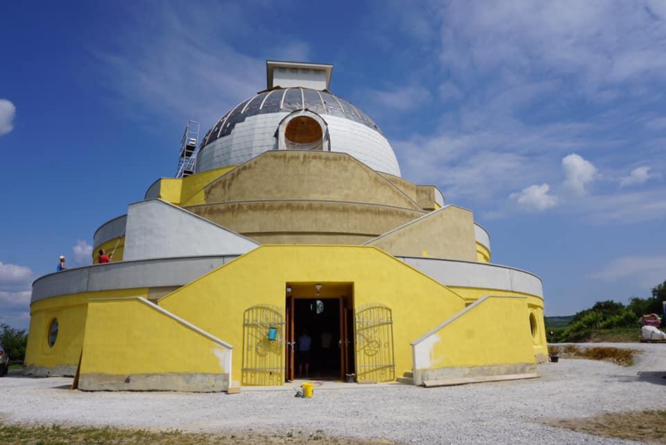 Friedens Stupa