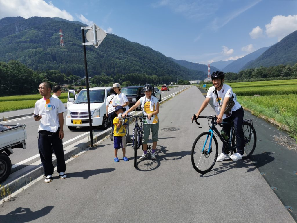 Earth Caravan Peace Cycling Japan